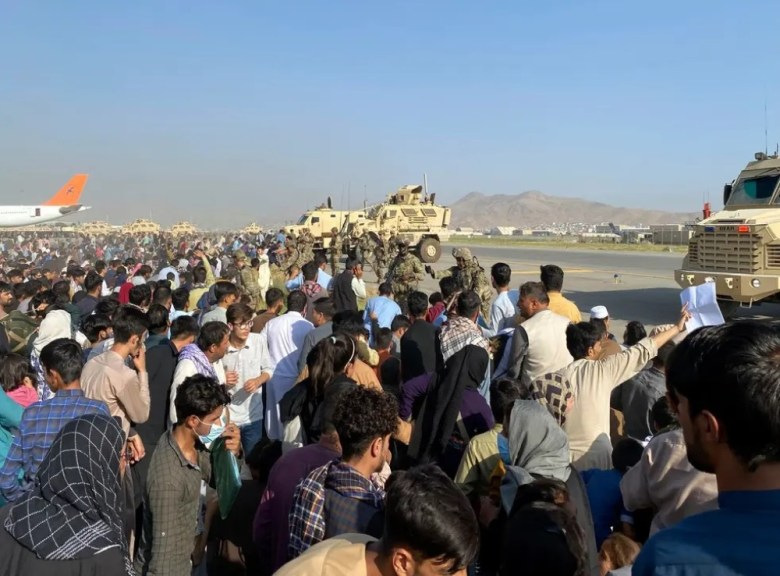 The people of the United States expelled Afghanistan