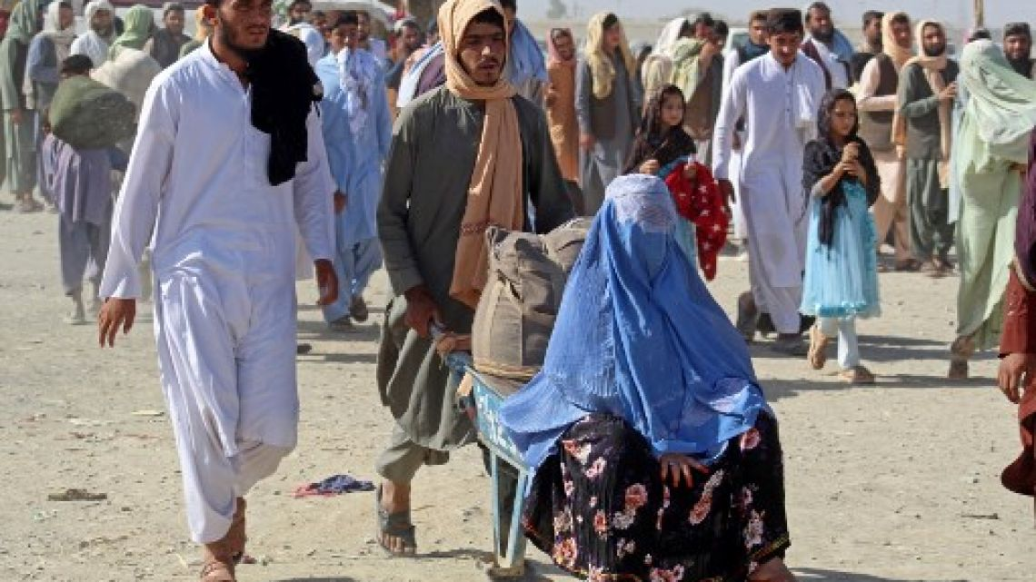 The United States is preparing to receive 50,000 Afghan refugees