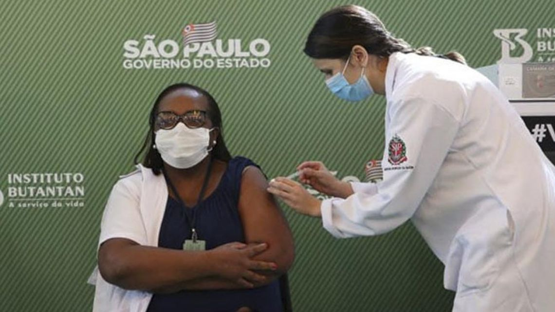 Brazil will implement a booster vaccine and reduce the time between doses