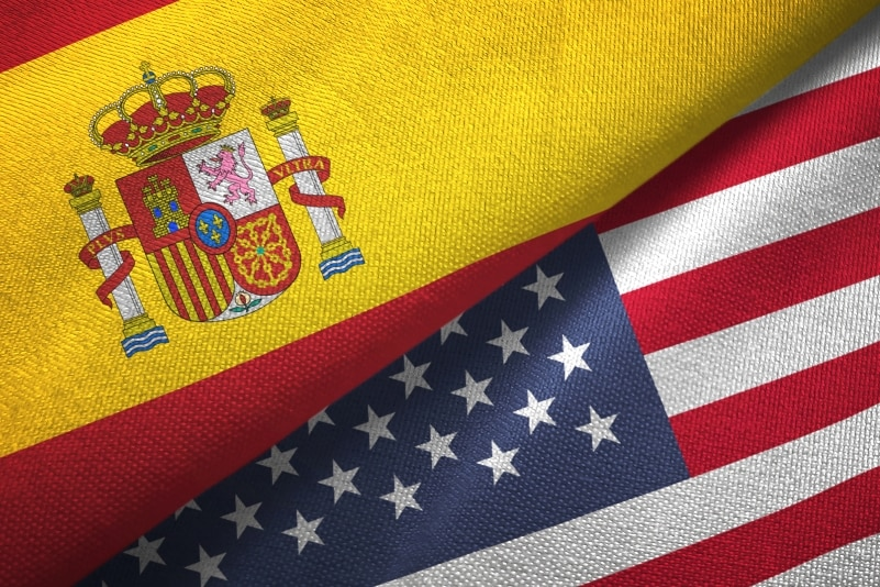 Cooperation between the United States and Spain to assist the evacuees from Afghanistan