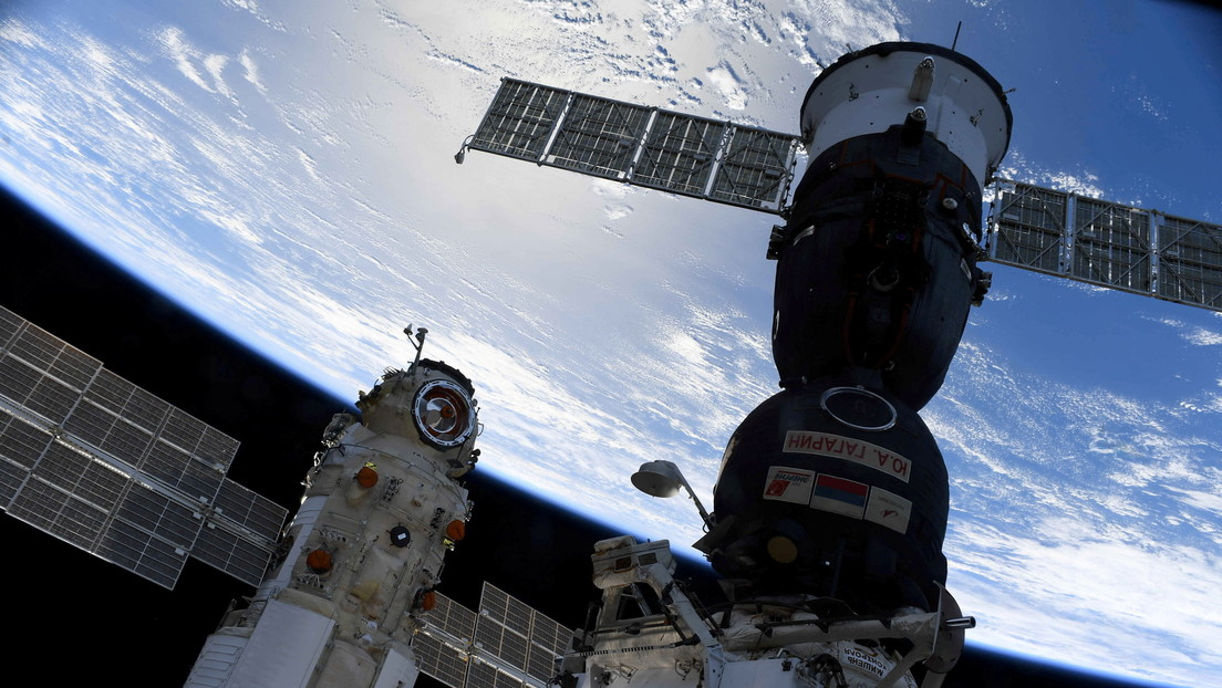 Cosmonaut publishes the first images of Earth taken from the new Russian module of the International Space Station