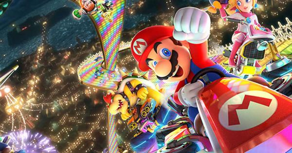 Mario Kart 8 Deluxe takes the flag in the UK