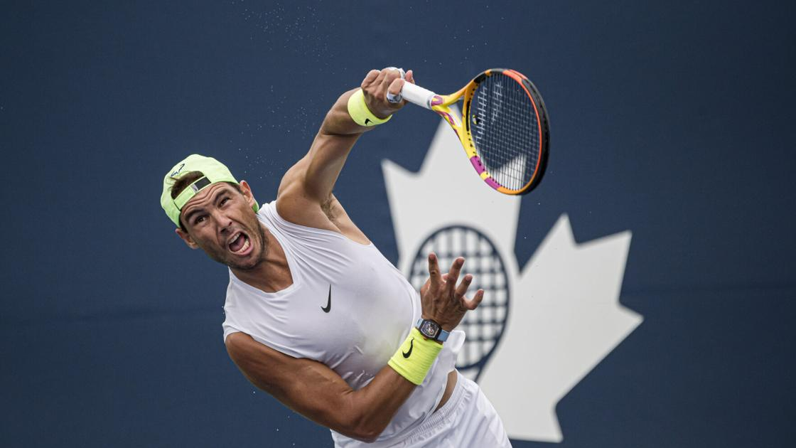 Nadal withdraws from Canadian Masters due to injury  Sports