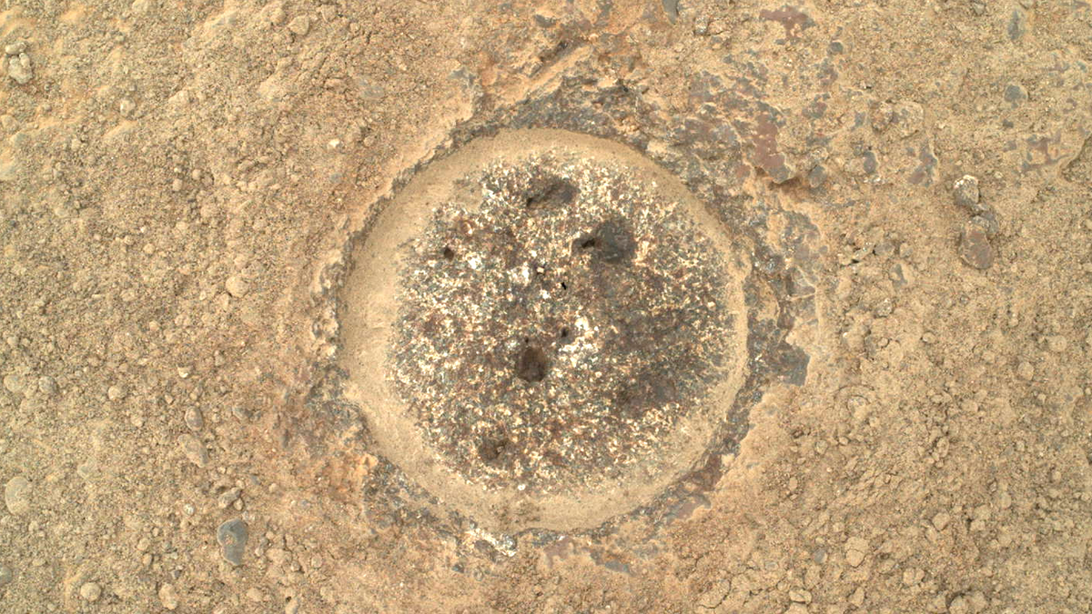 Rover Perseverance collects its first rock sample on Mars