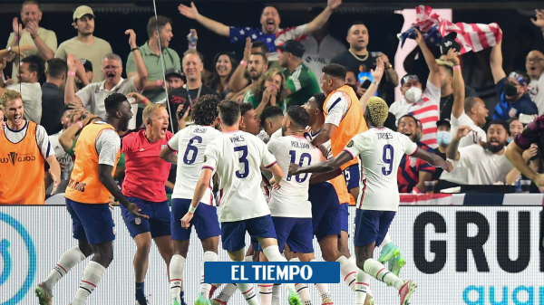 The United States beat Mexico in the Gold Cup final, an international football-sports champion