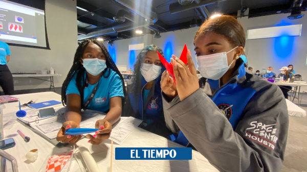 The first group of Colombian girls traveled to NASA – Science – Life