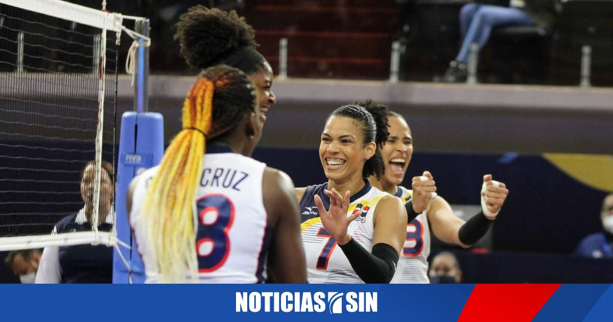 Today Volleyball RD goes against the United States in the NORCECA semi-finals