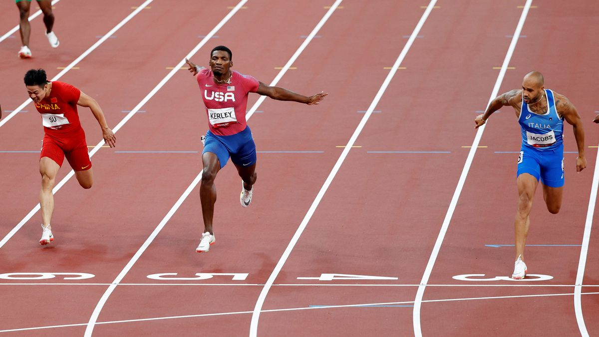 Tokyo 2020 Olympic Games |  Italy's Jacobs succeeds Bolt with Olympic 100m gold |  Olympic Games 2021