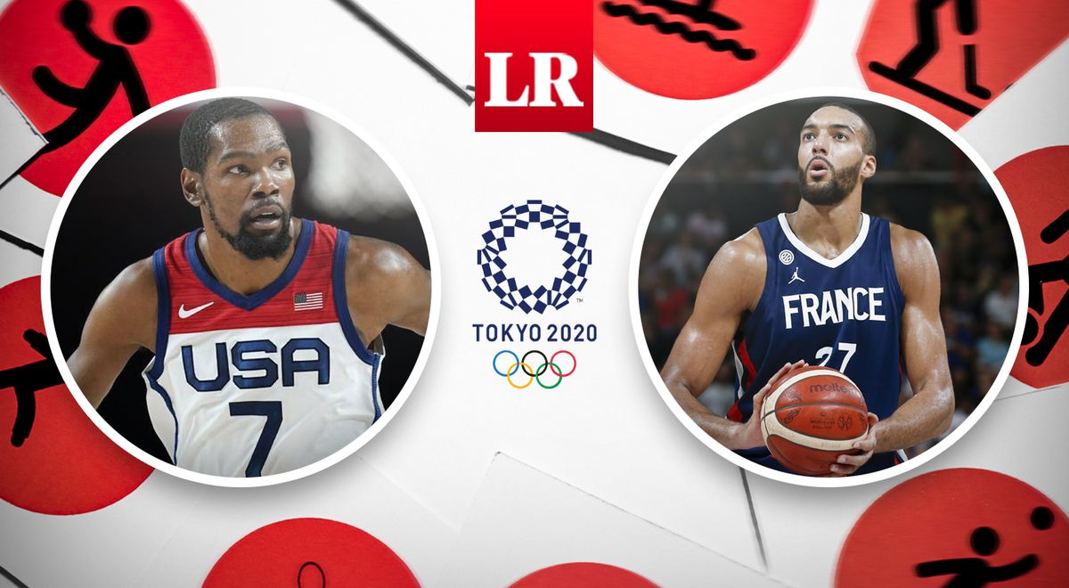 United States vs France LIVE Olympic Games Tokyo 2020 The ultimate men's basketball channel where the Tokyo 2021 Basketball Olympics can be watched via Marca Claro Sports