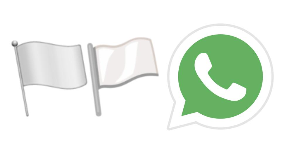 WhatsApp    What does the white flag represent and when should you send it?  Meaning    white flag    Android    iOS    iPhone    Applications    Applications    Smartphone    Mobile phones    viral    nda    nnni    SPORTS-PLAY