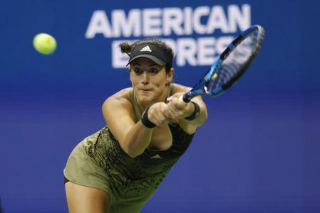 This was Muguruza's ninth participation in the North American Open