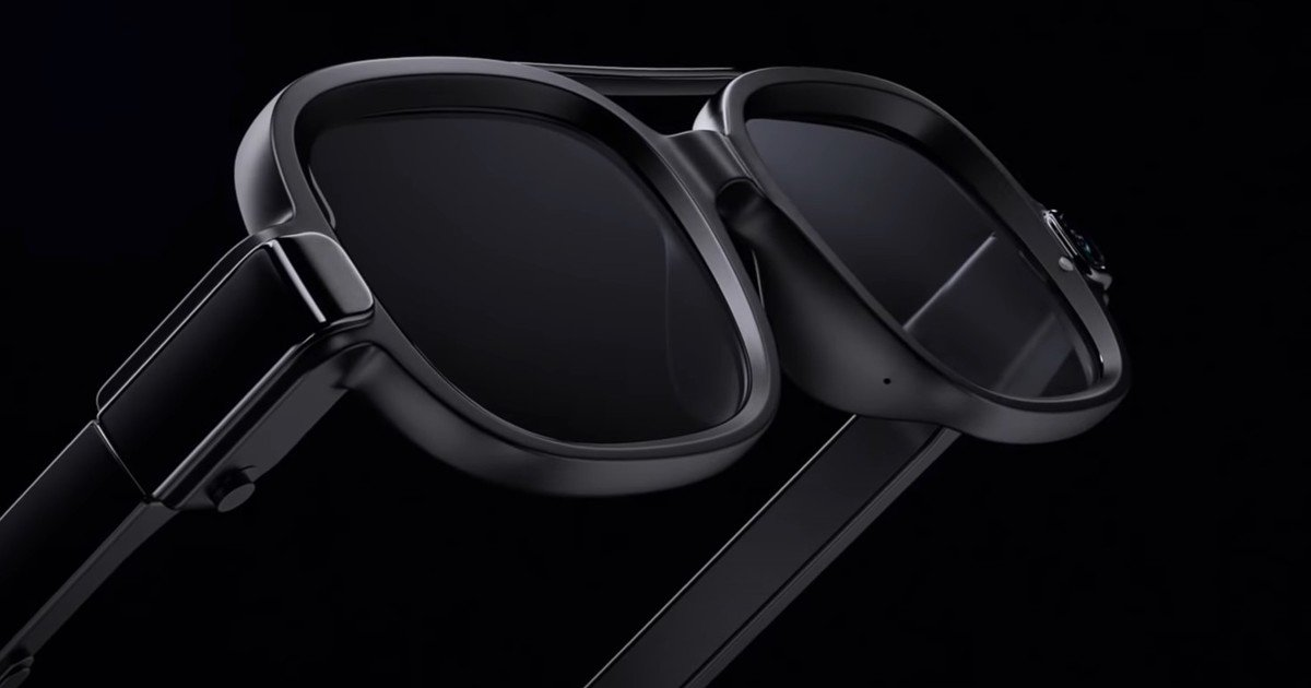 Xiaomi enters the trend of smart glasses and presents its first model with a MicroLED screen