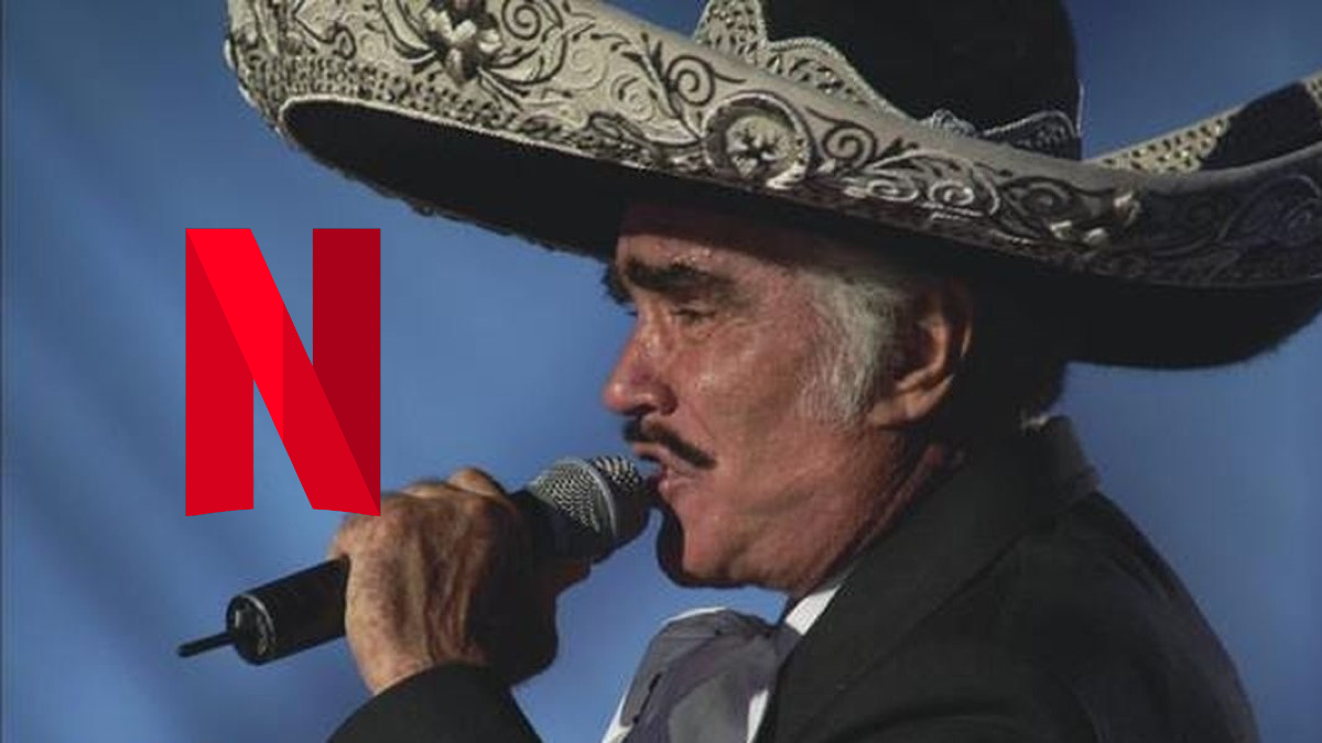 A series about Vicente Fernandez is coming to Netflix