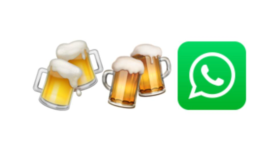 WhatsApp |  Uncover the hidden story behind the collision of beer emoji |  SPORTS-PLAY