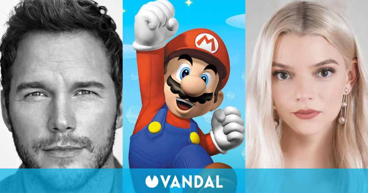 The Mario movie arrives in 2022 with Chris Pratt, Anya Taylor-Joy and Charlie Day