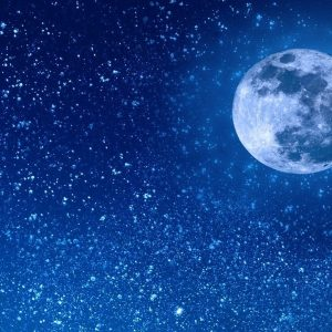The lunar cycle affects men's sleep and harms it more