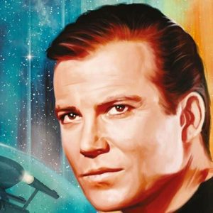 Captain Kirk from Star Trek can take a trip to space aboard Jeff Bezos' ship and break a historic record at age 90