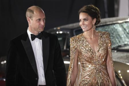 The Duke and Duchess of Cambridge arrive at the Royal Albert Hall