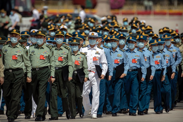 China and the United States concluded two days of military talks