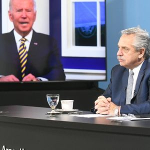 Alberto Fernandez Fernandez and Biden raised better financing conditions to tackle the climate crisis
