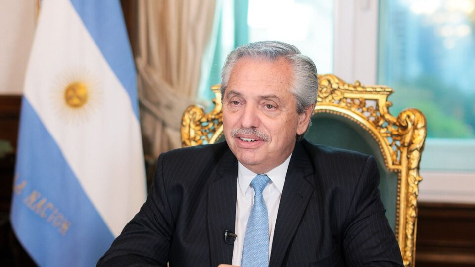 Alberto Fernandez insisted on demanding an extension of the debt repayment terms    Participate in a panel discussion held by the United Nations and the International Labor Organization