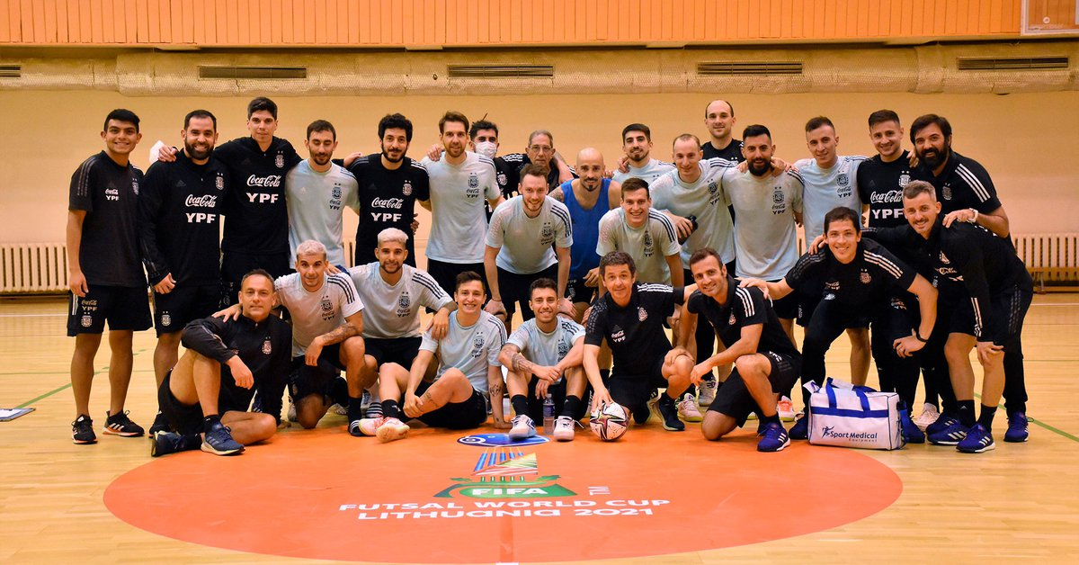 Argentina will compete for the first time in the Futsal World Cup in search of reconfirmation of the title they won in 2016