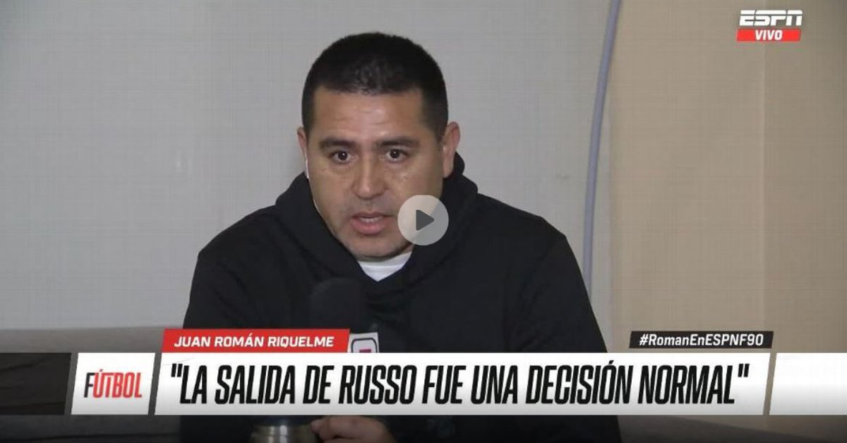 Behind the scenes of Russo's sacking, what will happen to Via and the harbinger of Messi's future: Riquelme's best phrases