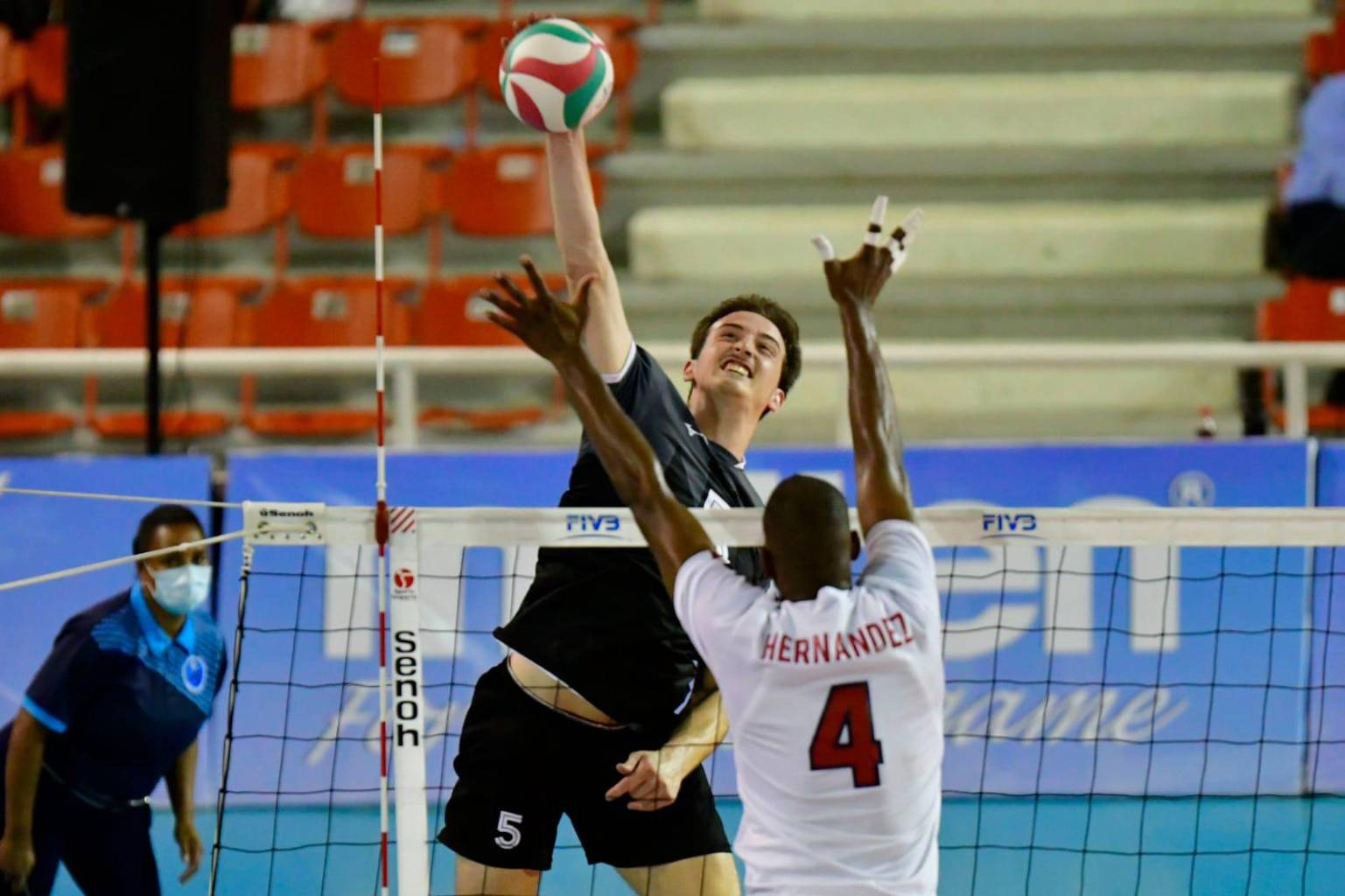 Canada was unbeaten in the Pan American Cup by beating the Dominican Republic