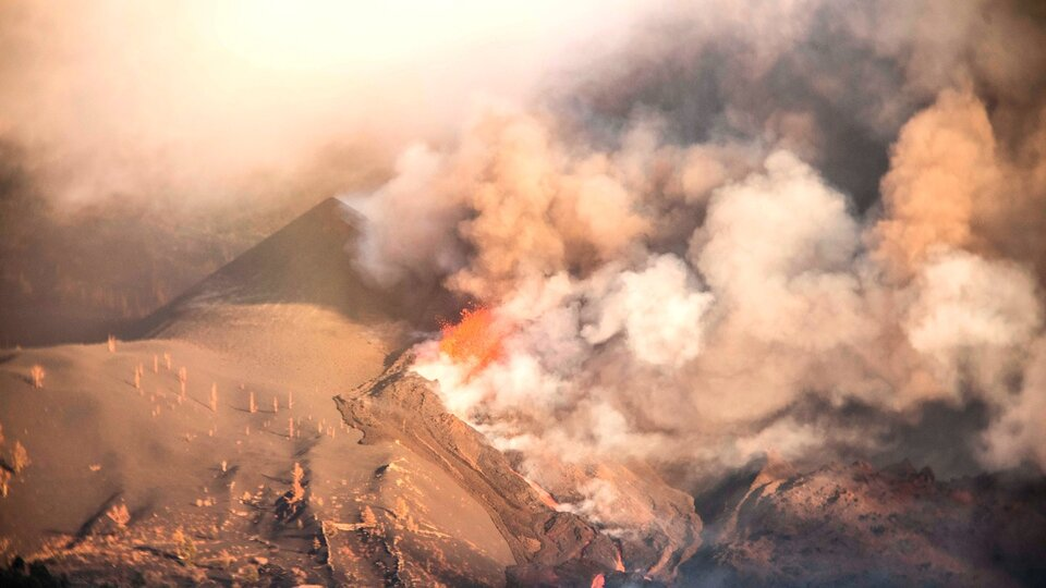 La Palma volcano: 'Miracle House' finally succumbed to lava |  It was surrounded by magma for 10 days