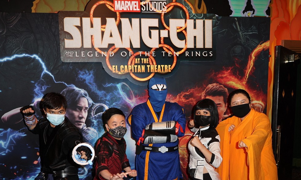 Marvel scores second highest film of the year with Shang-Chi