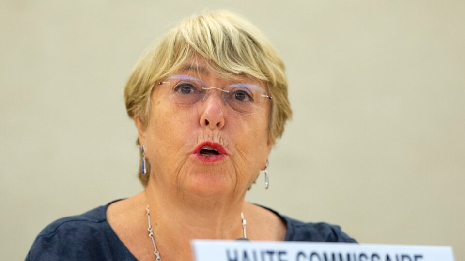 """Michelle Bachelet calls for the lifting of """"sectoral sanctions"""" on Venezuela 
