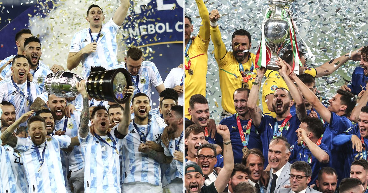Official: Argentina will face Italy in the duel for the Copa America and the European Championship
