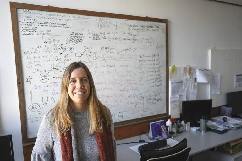 """Pilar Moreno: """"If we do not learn now that science is necessary for the development of the country, we will not learn it anymore"""" 