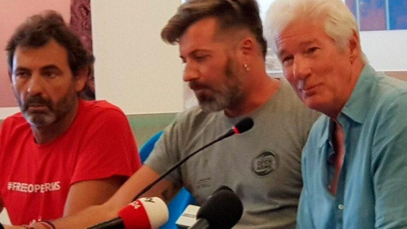 Richard Gere testifies against former Italian minister Matteo Salvini |  It will do so in support of the trial of the humanitarian NGO Open Arms, in which the former far-right official banned nearly 150 migrants from disembarking.