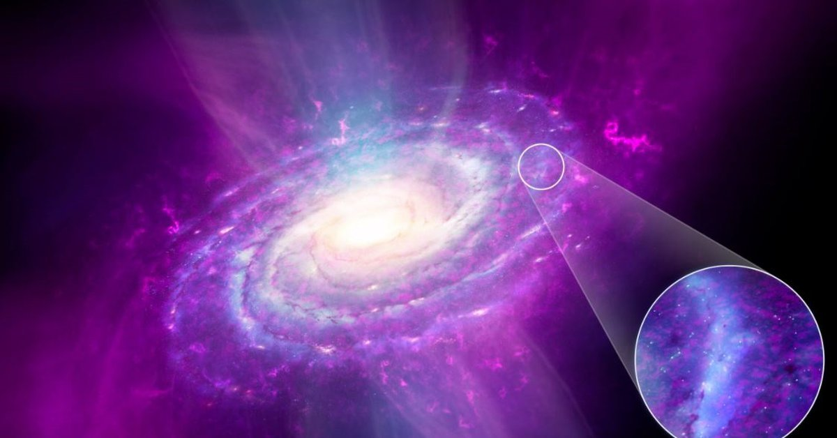 Sciences.  – Milky Way evolution simulations must be corrected