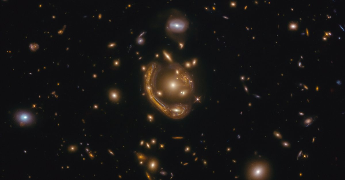 Telescopes in Chile made it possible to solve the mystery of Einstein's 'melting ring'