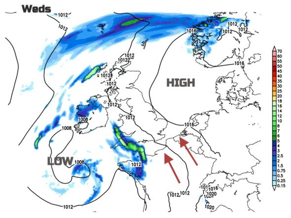 UK lightning forecast: 30°C air will cause major incident of 'storms, floods and small cyclones' |  weather
