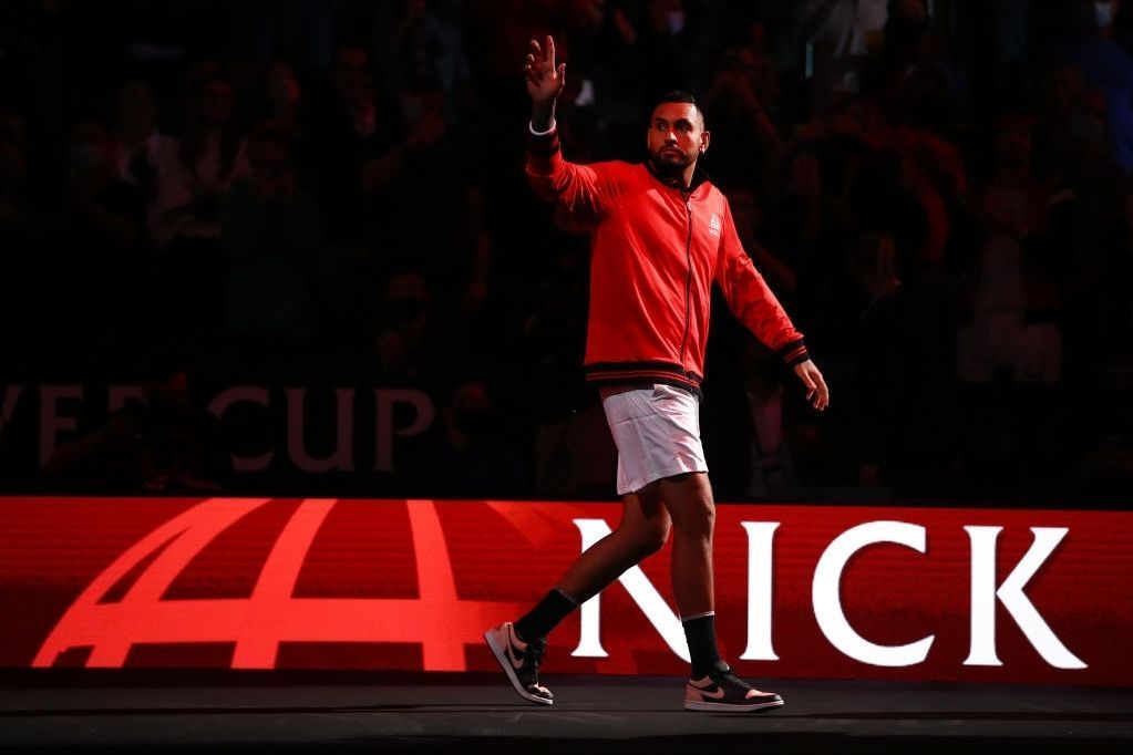 What was 2021 like for Nick Kyrgios?