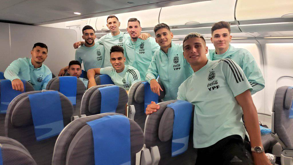 With 'anger', Argentina has arrived in Buenos Aires from Brazil and is now preparing to face Bolivia |  football |  Sports