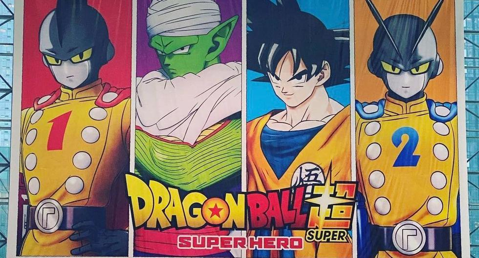 """""""Dragon Ball Super: Super Hero"""" introduces two new characters in the official poster 