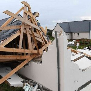 Damaged by Storm Aurora in France: More than 250,000 homes were without electricity