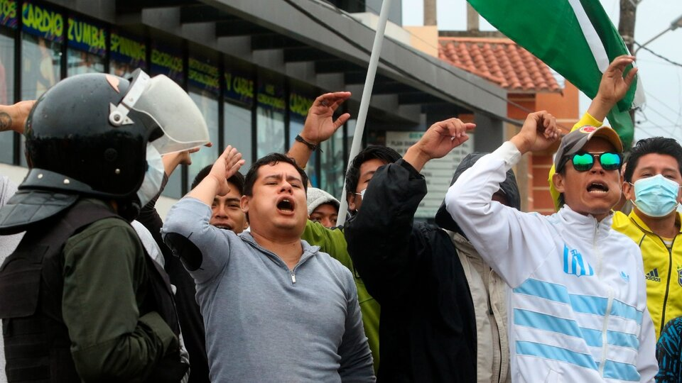 Bolivia: Louis Ars faced the opposition's first blow |  The protest was most powerful in Santa Cruz County, the stronghold of the right