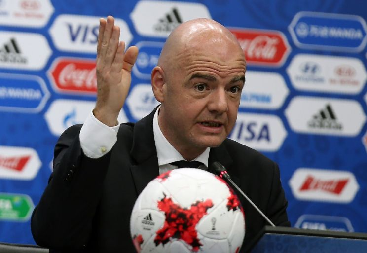 FIFA is considering moving its business to the country…