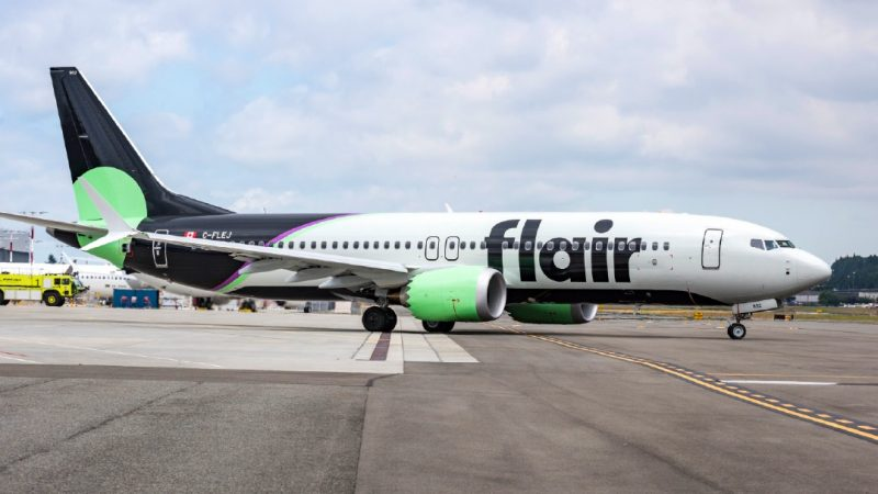 Flair builds aircraft and increases flights to Canada and the US by 33%