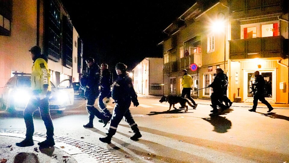 Horror in Norway: A man killed several people with a bow and arrow |  Kongsberg authorities have asked residents not to leave their homes