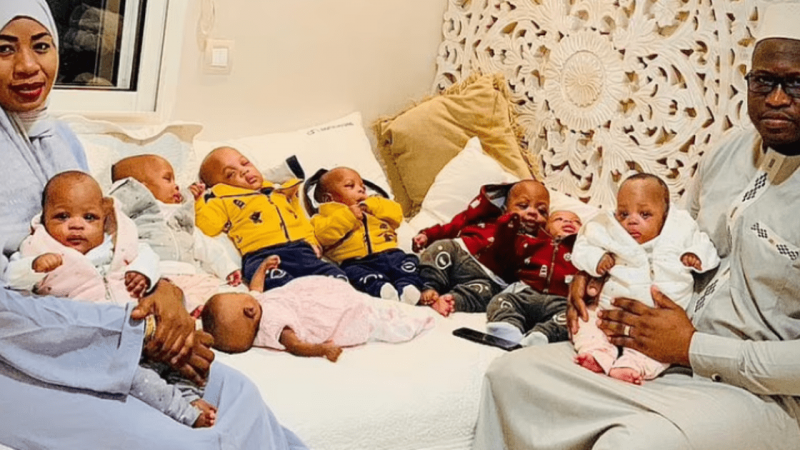 """""""It seemed like an endless river of children pouring out of me"""": She has nine children and broke the world record 