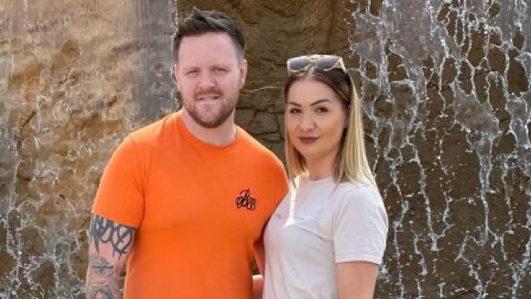 Jenny and Richard, 30, become the UK's youngest grandparents