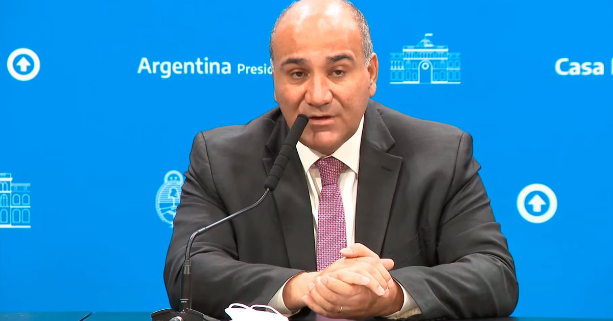 Juan Manzor will travel to the United States to meet investors in the middle of negotiations with the International Monetary Fund