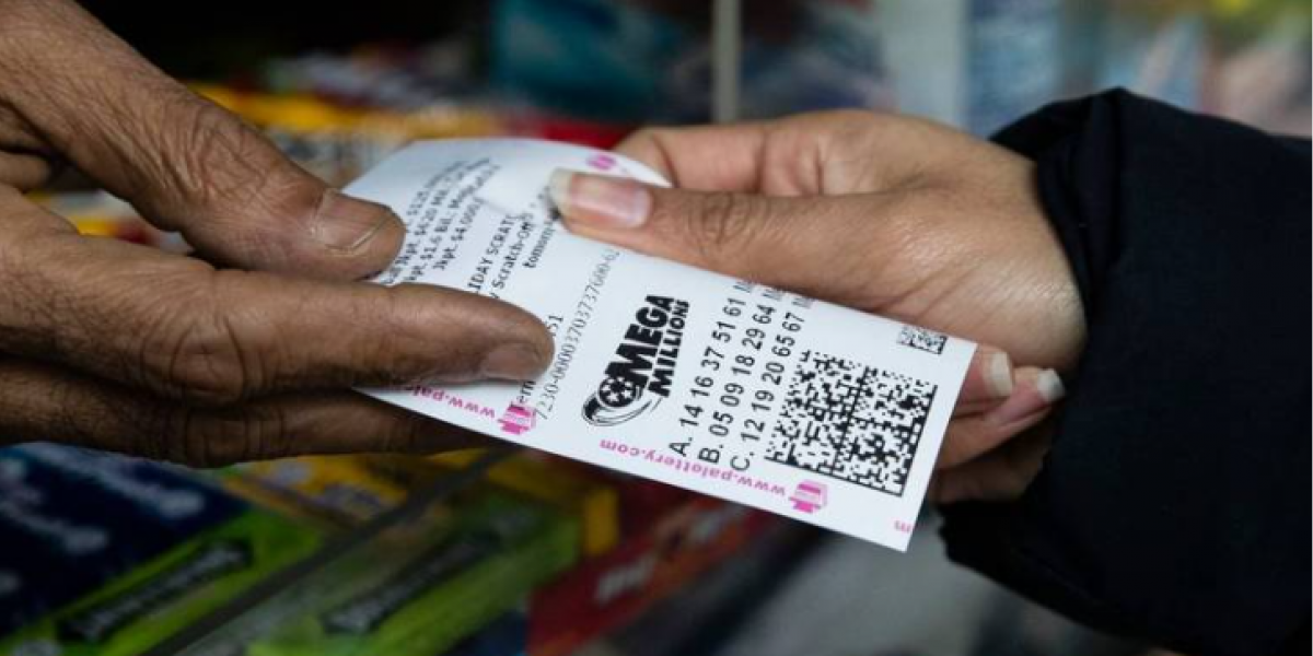 Luck teams up with a woman from the United States, and she won the lottery twice in the same day