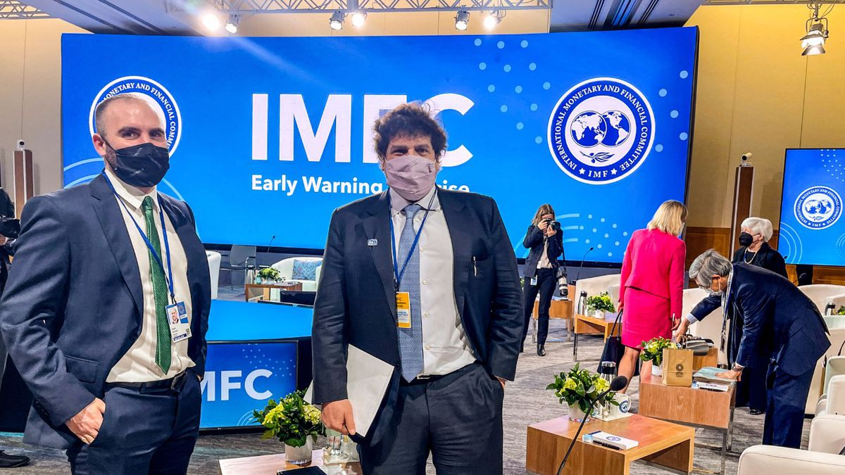 Martin Guzmán seeks agreements in the United States to encourage investment